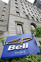 Montreal (QC) CANADA, May 28, 2007<br /> <br /> Bell Canada building on Beaver Hall street in Montreal.<br /> <br /> A takeover of Canada's biggest telephone company is possible, if not necessarily imminent.<br /> <br /> photo : (c) ¨Pierre Roussel -  images Distribution