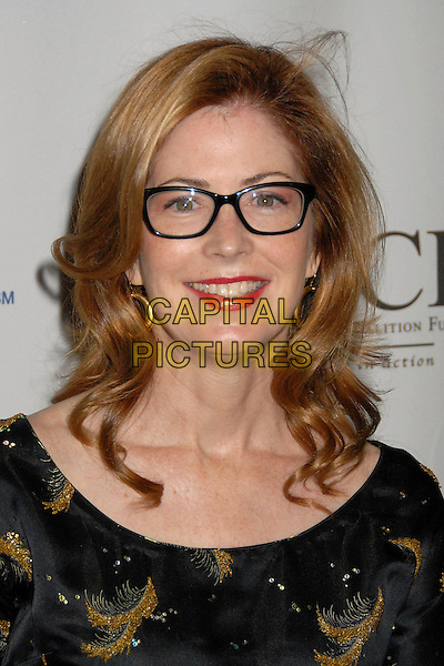 "DANA DELANY.7th Annual All-Star ""Les Girls"" Benefit for The National Breast Cancer Coalition Fund at Avalon, Hollywood, California, USA. .October 8th, 2007.headshot portrait red lipstick glasses .CAP/ADM/BP.©Byron Purvis/AdMedia/Capital Pictures."