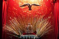 SÃO LUIZ DO PARAITINGA, SP, 26 DE MAIO DE 2012 - FESTA DO DIVINO - Sede do Império onde ficam a Coroa e a Pomba que simboliza o Espírito Santo durante Festa do Divino de São Luiz do Paraitinga, que acontece neste final de semana. FOTO: LEVI BIANCO - BRAZIL PHOTO PRESS