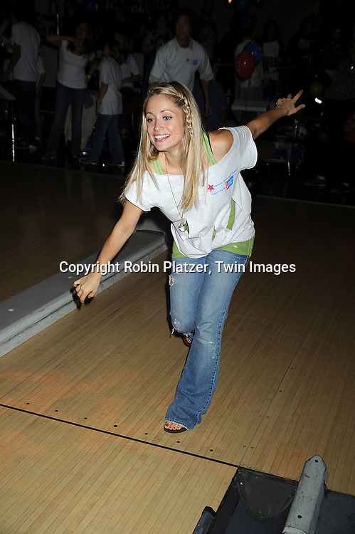 """Marcy Rylan ..at The Fifth Annual """"Daytime Stars and Strikes"""" for The American Cancer Society on September 28, 2008 at The Port Authority Bowling Alley. Jerry verDorn and Liz Keifer were the hosts. ....Robin Platzer, Twin Images"""