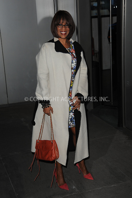 WWW.ACEPIXS.COM<br /> March 22, 2015 New York City<br /> <br /> Gayle King attending the 'Mad Men' New York Special Screening at The Museum of Modern Art on March 22, 2015 in New York City.<br /> <br /> Please byline: Kristin Callahan/AcePictures<br /> <br /> ACEPIXS.COM<br /> <br /> Tel: (646) 769 0430<br /> e-mail: info@acepixs.com<br /> web: http://www.acepixs.com