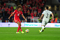 Ethan Ampadu of Wales in action during the UEFA Euro 2020 Qualifier match between Wales and Azerbaijan at the Cardiff City Stadium in Cardiff, Wales, UK. Friday 06, September 2019