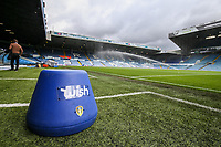 Leeds United manager Marcelo Bielsa's blue bucket sits in the technical area before the match<br /> <br /> Photographer Alex Dodd/CameraSport<br /> <br /> The EFL Sky Bet Championship - Leeds United v Nottingham Forest - Saturday 10th August 2019 - Elland Road - Leeds<br /> <br /> World Copyright © 2019 CameraSport. All rights reserved. 43 Linden Ave. Countesthorpe. Leicester. England. LE8 5PG - Tel: +44 (0) 116 277 4147 - admin@camerasport.com - www.camerasport.com