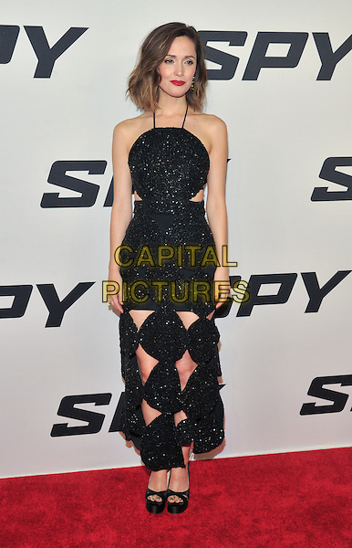 New York,NY-June 1: Rose Byrne attends the 'Spy' New York Premiere at AMC Loews Lincoln Square on June 1, 2015 in New York City. <br /> CAP/MPI/STV<br /> &copy;STV/MPI/Capital Pictures