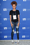 Model poses at model casting for Fashion Week Brooklyn Fall Winter 2018 at Kings Plaza Mall in Brooklyn, New York on March 17, 2018.