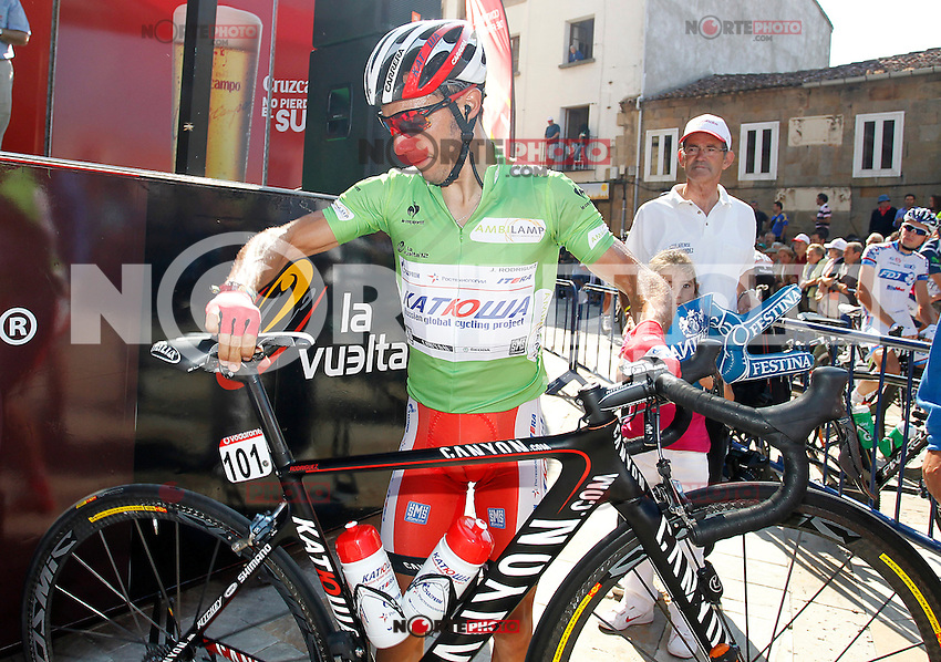 Joaquin Purito Rodriguez before the stage of La Vuelta 2012 beetwen Aguilar de Campoo-Valladolid.September 6,2012. (ALTERPHOTOS/Paola Otero) /NortePhoto.com<br /> <br /> **CREDITO*OBLIGATORIO** <br /> *No*Venta*A*Terceros*<br /> *No*Sale*So*third*<br /> *** No*Se*Permite*Hacer*Archivo**<br /> *No*Sale*So*third*
