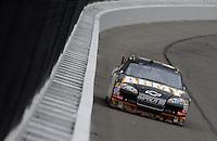 Oct. 3, 2009; Kansas City, KS, USA; Nascar Sprint Cup Series driver Ryan Newman during practice for the Price Chopper 400 at Kansas Speedway. Mandatory Credit: Mark J. Rebilas-