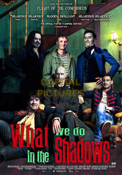 NEW ZEALAND POSTER ART<br /> in What We Do in the Shadows (2014) <br /> *Filmstill - Editorial Use Only*<br /> CAP/FB<br /> Image supplied by Capital Pictures