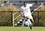 04 November 2007: Duke's Darrius Barnes. The Alabama A&M University Bulldogs defeated the Duke University Blue Devils 4-3 at Koskinen Stadium in Durham, North Carolina in an NCAA Division I Men's Soccer game.