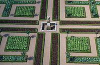 Europe/France/Centre/37/Indre-et-Loire/Villandry: Les jardins du chateau