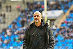 16.02.2020, Carl-Benz-Stadion, Mannheim, GER, 3. Liga, SV Waldhof Mannheim vs. FC Carl Zeiss Jena, <br /> <br /> DFL REGULATIONS PROHIBIT ANY USE OF PHOTOGRAPHS AS IMAGE SEQUENCES AND/OR QUASI-VIDEO.<br /> <br /> im Bild: Bernhard Trares (Trainer SV Waldhof Mannheim)<br /> <br /> Foto © nordphoto / Fabisch