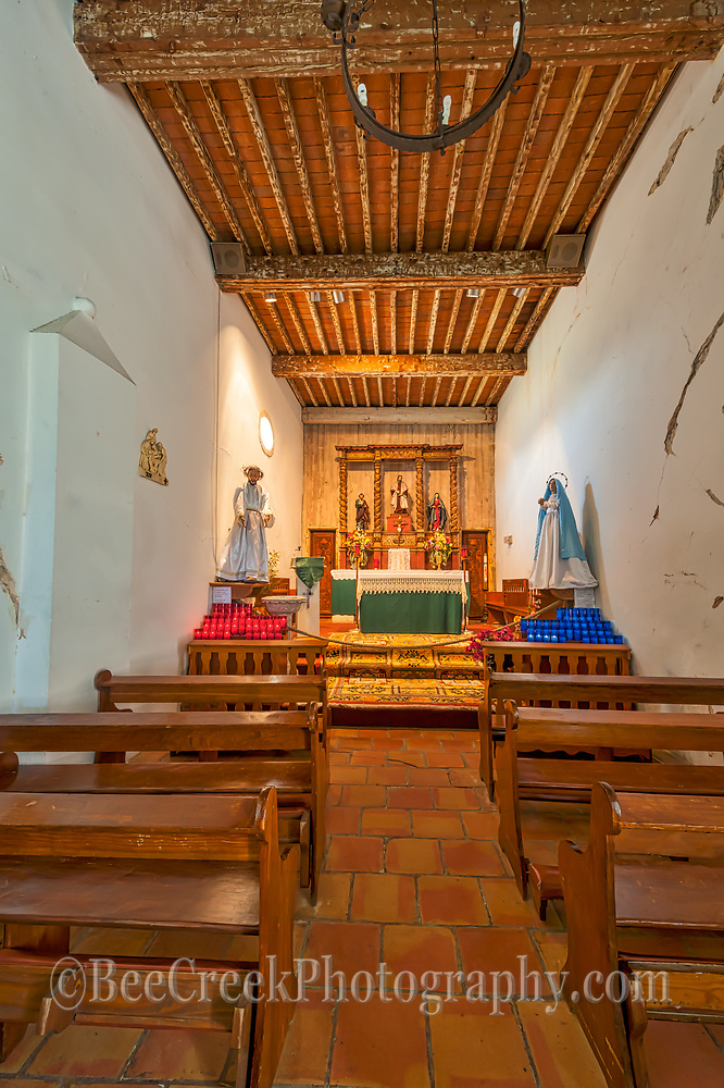 This is an image we captured at the Mission San Juan in San Antonio of a small chapel.