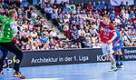 BITTER, Johannes (#1 TVB 1898 Stuttgart) \BOOMHOEWER, Jeffrey (#32 Bergischer HC) \ beim Spiel in der Handball Bundesliga, TVB 1898 Stuttgart - Bergischer HC.<br /> <br /> Foto © PIX-Sportfotos *** Foto ist honorarpflichtig! *** Auf Anfrage in hoeherer Qualitaet/Aufloesung. Belegexemplar erbeten. Veroeffentlichung ausschliesslich fuer journalistisch-publizistische Zwecke. For editorial use only.