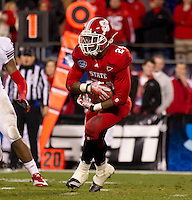 Belk Bowl, North Carolina State University vs University of Louisville, NC State won 31-24.