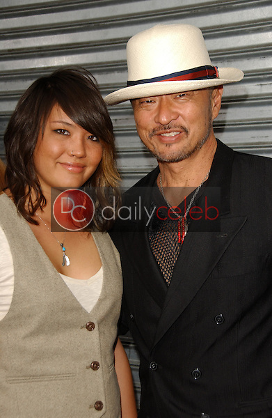 Cary-Hiroyuki Tagawa and daughter Brynne<br />at the Los Angeles premiere &quot;Balls Of Fury&quot;. The Egyptian Theatre, Hollywood, CA. 08-25-07<br />Dave Edwards/DailyCeleb.com 818-249-4998