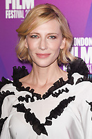 Cate Blanchett at the LFF Connects: Julian Rosefeldt &amp; Cate Blanchett event at the 61st BFI London Film Festival, at South Bank, London, UK. <br /> 06 October  2017<br /> Picture: Steve Vas/Featureflash/SilverHub 0208 004 5359 sales@silverhubmedia.com