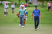 Justin Thomas (USA) and Rory McIlroy (NIR) approach the green on 12 during round 2 of the 2019 Tour Championship, East Lake Golf Course, Atlanta, Georgia, USA. 8/23/2019.<br /> Picture Ken Murray / Golffile.ie<br /> <br /> All photo usage must carry mandatory copyright credit (© Golffile | Ken Murray)