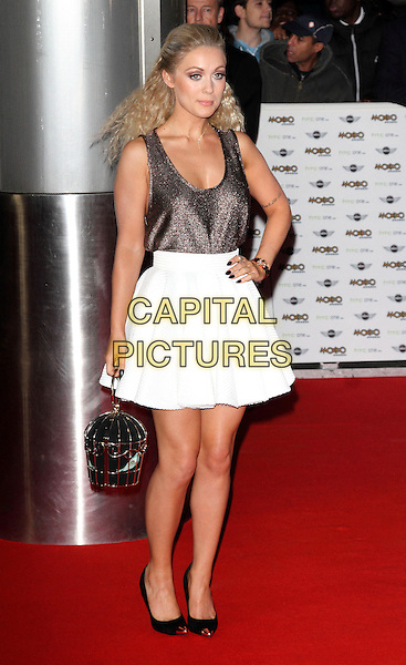 LONDON, ENGLAND - OCTOBER 22: Alexa Goddard attends the MOBO Awards at SSE Arena on October 22, 2014 in London, England. <br /> CAP/ROS<br /> &copy;Steve Ross/Capital Pictures