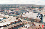 WATERBURY,CT 3/19/99- 0319BZ09- The Anaconda Brass building and related block on Freight St. For Sunday. JAMISON C BAZINET PHOTO