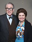 """Boyd Gaines and Debra Monk from  """"Mrs. Miller Does Her Thing""""  at the Signature Theatre on March 18, 2017 in Arlington, Virginia."""