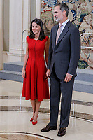 SEP 16 Spanish Royals Welcome FIBA World Cup National Team