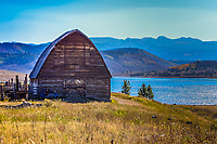 Built in approximately 1935, this barn near Clark, Colorado is still part of the Fetcher family's working summer ranch.