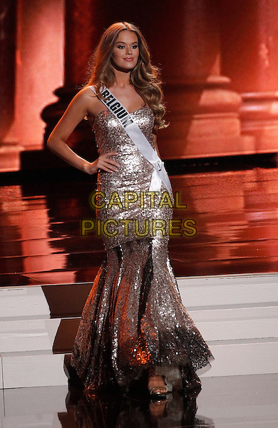 16 December 2015 - Las Vegas, Nevada -  Miss Belgium, Annelies Sven D. Toros.  2015 Miss Universe Preliminary Competition at Axis at Planet Hollywood Resort and Casino. <br /> CAP/ADM/MJT<br /> &copy; MJT/AdMedia/Capital Pictures