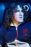 FC Barcelona's Carles Puyol during La Liga match.March 02,2013. (ALTERPHOTOS/Acero) /NortePhoto