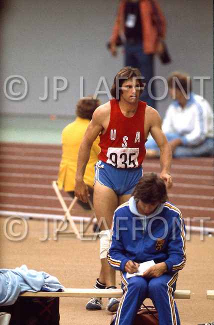 "July 30, 1976 - Montreal, Quebec, Canada: At the 1976 Montreal Olympic games, US athlete Bruce Jenner won the gold medal in the decathlon, scoring 8,616 points, thereby beating his own world record set at the Olympic Trials. Jenner hit a ""home run"" by achieving personal bests on the first day, turning a notorious second day into a gold medal coronation. In an April 2015 interview, Jenner came out as a trans woman saying he / she had dealt with gender dysphoria since his / her youth, and that, for all intents and purposes, ""I?m a woman."""