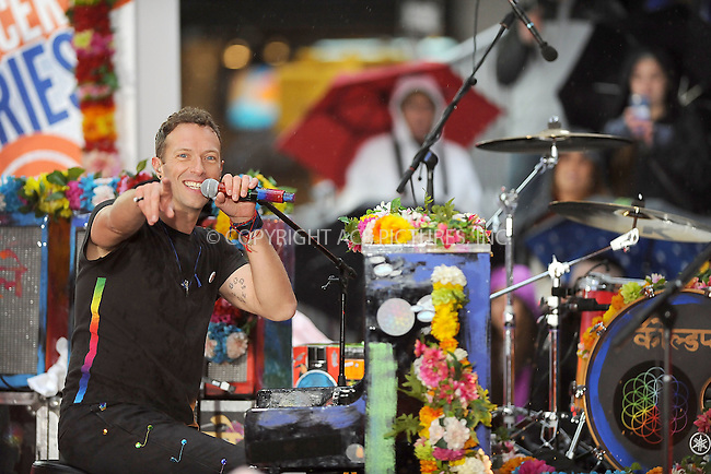 WWW.ACEPIXS.COM<br /> March 14, 2016 New York City<br /> <br /> Coldplay performing in concert on NBC TODAY at Rockefeller Plaza on March 14, 2016 in New York City.<br /> <br /> Credit: Kristin Callahan/ACE<br /> <br /> Tel: (646) 769 0430<br /> e-mail: info@acepixs.com<br /> web: http://www.acepixs.com