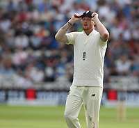 England's Ben Stokes<br /> <br /> Photographer Stephen White/CameraSport<br /> <br /> Investec Test Series 2017 - Second Test - England v South Africa - Day 2 - Saturday 15th July 2017 - Trent Bridge - Nottingham<br /> <br /> World Copyright &copy; 2017 CameraSport. All rights reserved. 43 Linden Ave. Countesthorpe. Leicester. England. LE8 5PG - Tel: +44 (0) 116 277 4147 - admin@camerasport.com - www.camerasport.com