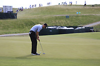 Brendan Steele (USA) putts on the 3rd green during Friday's Round 2 of the 117th U.S. Open Championship 2017 held at Erin Hills, Erin, Wisconsin, USA. 16th June 2017.<br /> Picture: Eoin Clarke | Golffile<br /> <br /> <br /> All photos usage must carry mandatory copyright credit (&copy; Golffile | Eoin Clarke)