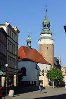 Annekapelle  in Jelenia Gora (Hirschberg), Woiwodschaft Niederschlesien (Wojew&oacute;dztwo dolnośląskie), Polen, Europa<br /> St.Anna in Jelenia Gora, Poland, Europe
