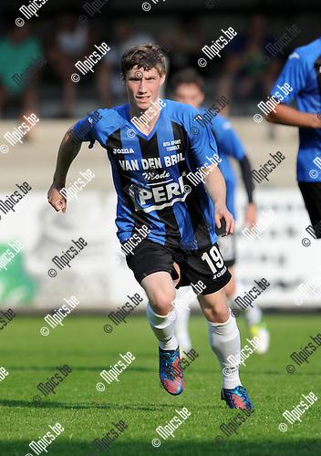 2013-07-07 / Voetbal / seizoen 2013-2014 / Rupel-Boom - KV Mechelen / Nils Wosky<br /><br />Foto: Mpics.be