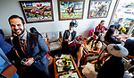 November 3, 2018 : Scenes from Breeders Cup World Championships Saturday at Churchill Downs on November 3, 2018 in Louisville, Kentucky. Scott Serio/Eclipse Sportswire/CSM