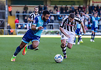Alex Jakubiak of Wycombe Wanderers (on loan from Watford) during the Sky Bet League 2 match between Wycombe Wanderers and Notts County at Adams Park, High Wycombe, England on the 25th March 2017. Photo by Liam McAvoy.