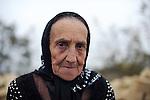 French Woman in Imishli (AZE)
