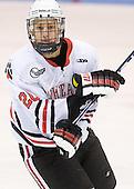 Luke Eibler (Northeastern - 20) - The Northeastern University Huskies defeated the visiting Providence College Friars 5-0 on Saturday, November 20, 2010, at Matthews Arena in Boston, Massachusetts.
