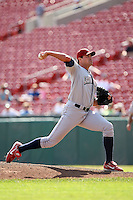 August 22 2008:  Pitcher Matt Childers of the Lehigh Valley IronPigs, Class-AAA affiliate of the Philadelphia Phillies, during a game at Dunn Tire Park in Buffalo, NY.  Photo by:  Mike Janes/Four Seam Images