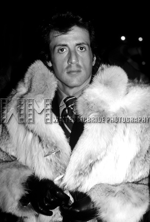 Sylvester Stallone <br /> Directing his new Movie STAYIN' ALIVE<br /> New York City<br /> 1982<br /> Credit All Uses<br /> <br /> &copy; Walter McBride / Retna Ltd, USA.