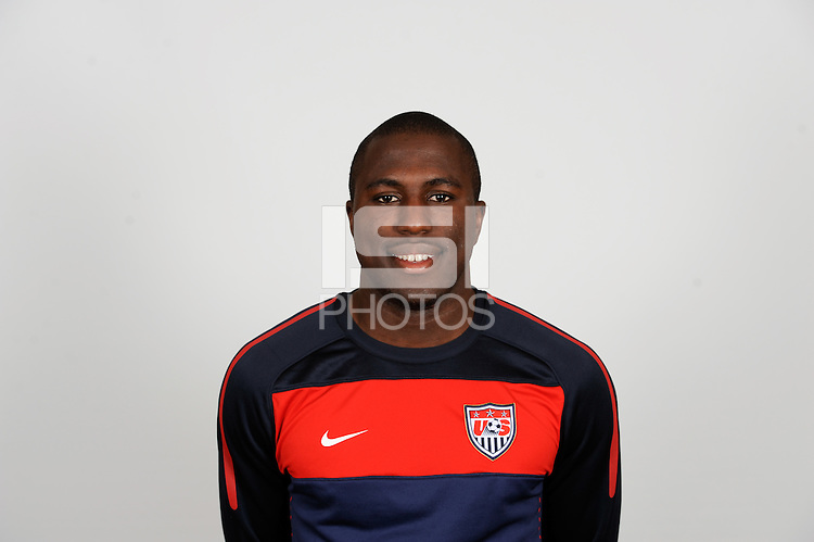 Jozy Altidore of the United States (USA) men's national team on October 11, 2010.