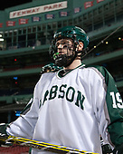Dan Casey (Babson - 19) - The UMass Boston Beacons defeated the Babson College Beavers 5-1 on Thursday, January 12, 2017, at Fenway Park in Boston, Massachusetts.