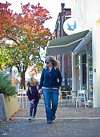 Phoebe Lawless and her daughter, Marilyn, at Scratch Bakery in Durham, NC.