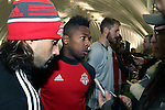 08 December 2016: Toronto's Armando Cooper (PAN). Toronto FC held a training session at the Kia Training Ground in Toronto, Ontario in Canada two days before playing in MLS Cup 2016.