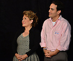 SWEETWATER, FL - MAY 18:Columba Bush and her son, Jeb Bush, Jr. listen as her husband former Florida Governor and potential Republican presidential candidate Jeb Bush speak during a fundraising event at the Jorge Mas Canosa Youth Center on May 18, 2015 in Sweetwater, Florida. Mr. Bush is thought to be seeking to run for the Republican nomination but he has yet to formally announce his intentions.  ( Photo by Johnny Louis / jlnphotography.com )