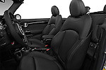 Front seat view of 2016 MINI MINI Cooper-S-Fwd 2 Door Convertible Front Seat  car photos