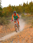 The Echo Ridge trail system offers plenty of exciting mountain biking for the adventurous as well as the beginner.
