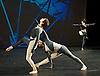 Nearly Ninety<br /> The Merce Cunningham Dance Company <br /> choreography by Merce Cunningham<br /> at The Barbican Theatre, London, Great Britain <br /> rehesrsal <br /> 26th October 2010 <br /> <br /> <br /> <br /> Marcie Munnerlyn <br /> Silas Riener<br /> Emma Desjardins<br /> <br /> <br /> <br /> Photograph by Elliott Franks<br /> 2010&copy;Elliott Franks