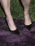 Actress Emily Deschanel 's shoes at 7th Annual Chrysalis Butterfly Ball on May 31, 2008 at a Private Residence in Los Angeles, California.