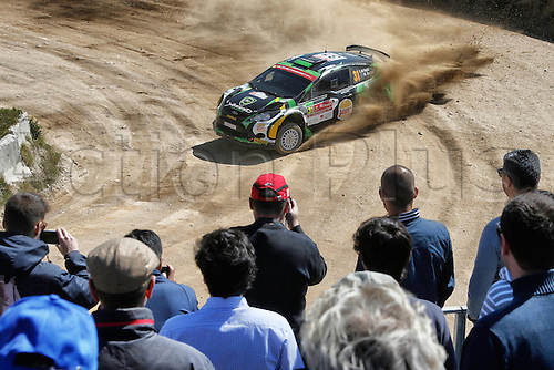21.05.2015. Lousada, Portugal. Day 1 of the WRC Rally of Portugal.  Yazeed Al-Rajhi
